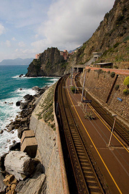 Train station of Manarola, Italy